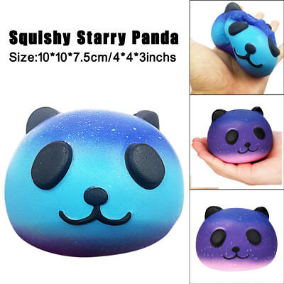 AU6.11 • Buy Galaxy Starrry Panda Cream Scented Slow Rising Squeeze Kids Toy 10cm