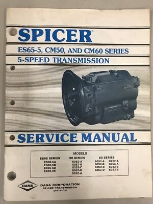 Spicer 5 Speed