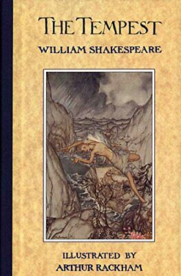 The Tempest ( Illustrated By Arthur Rackham ) By William Shakespeare Paperback • 11.99£