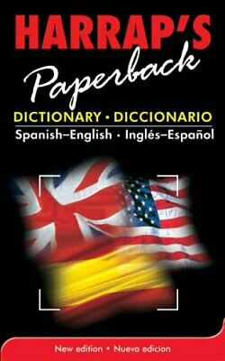 £3.59 • Buy Spanish-English Paperback Dict (Dictionary) By Harrap Paperback Book The Cheap