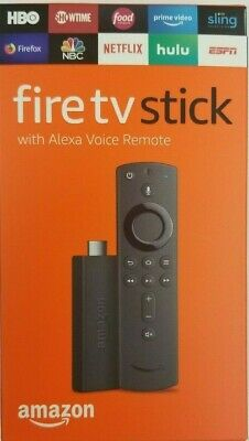 AU64.41 • Buy Amazon Fire Stick HD 2019 W/ New Gen Alexa Remote, UNALTERED! FACTORY SEALED!
