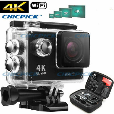 AU39.99 • Buy Waterproof Ultra 4K HD 1080P WiFi DV Action Sports Video Camera Camcorder Gopro