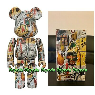 $340.88 • Buy Medicom 2019 Jean-Michel Basquiat Printings 200% Chogokin Bearbrick Be@rbrick