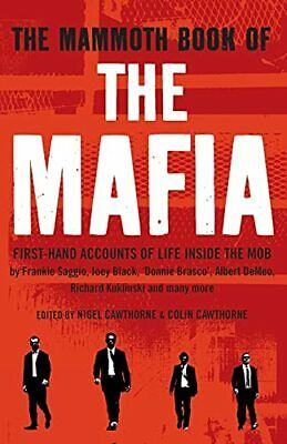 The Mammoth Book Of The Mafia (Mammoth Books) By Nigel Cawthorne Paperback Book • 3.99£