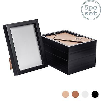 Box Picture Frame Deep 3D Photo Display 6x8 Inch Standing Hanging Black X5 • 19.99£