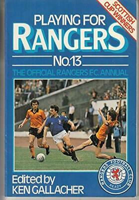 £11.28 • Buy Playing For Rangers: No. 13 Paperback Book The Fast Free Shipping