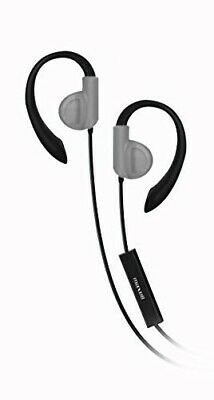 $6.58 • Buy Maxell 199635 Fitness Earhook With Mic Silver Headphone