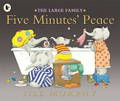 £3.59 • Buy Five Minutes' Peace (Large Family) By Murphy Jill Paperback Book The Cheap Fast