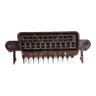 21 Way Right Angled Scart Chassis Socket With Solder Terminals, Chassis Or PCB M • 3.59£