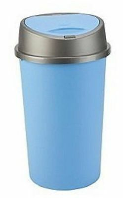 £13.95 • Buy Blue Touch Top Bin / Dustbin / Rubbish / Kitchen / Home / Plastic, Waste Recycle