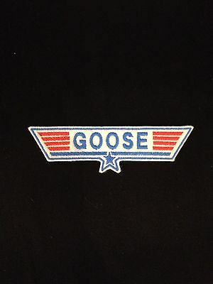 £3.60 • Buy Top Gun Goose Embroidered Patch, Badge Iron On Or Sew On