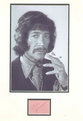 £95 • Buy Peter Wyngarde (jason King) Signed Autograph
