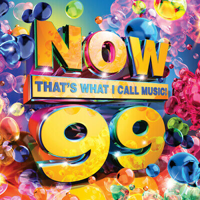 Various Artists : Now That's What I Call Music! 99 CD 2 Discs (2018) Great Value • 2.80£