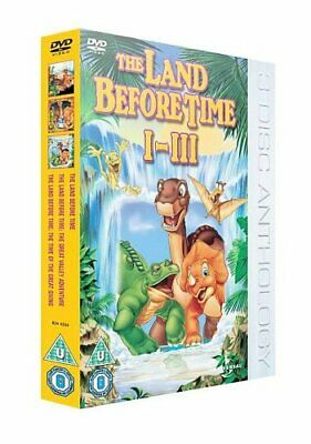 £7.61 • Buy The Land Before Time 1-3 [DVD] - DVD  GUVG The Cheap Fast Free Post