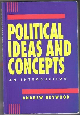 £4.99 • Buy Political Ideas And Concepts: An Introduction By Heywood, Andrew Paperback Book