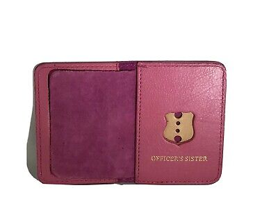 New York City Police Officer Sister Mini Wallet ID Holder Pink • 12.50£