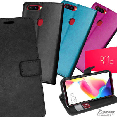 AU6.99 • Buy Wallet Flip Card Slot Stand Case Cover For Oppo R11s / R11