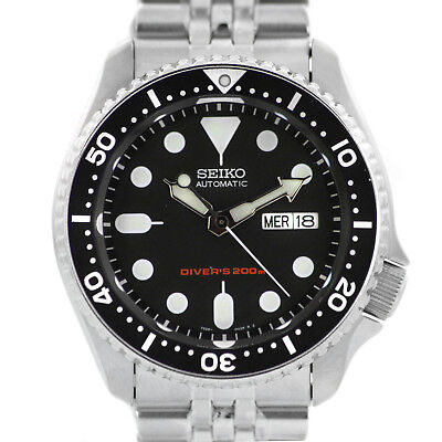 $ CDN520.13 • Buy Man Watch SEIKO Automatic Black And Stainless Steel SKX007K2 New