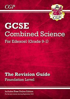 £4.49 • Buy Grade 9-1 GCSE Combined Science: Edexcel Revision Guide With Onl... By CGP Books