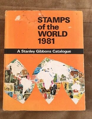 £45 • Buy Stamps Of The World 1981 A Stanley Gibbons Catalogue
