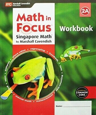 $ CDN18.10 • Buy Grade 2 Math In Focus Student Workbook 2A 2015 Edition Common Core 2nd