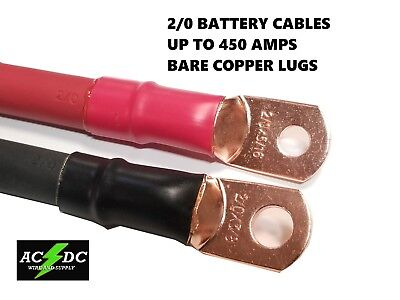 AU26.06 • Buy 2/0 AWG 00 Gauge Copper Battery Cable Power Wire AUTO, Inverter, RV, Solar