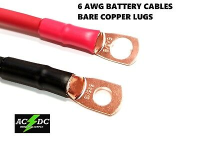 AU43.07 • Buy 6 AWG Copper Battery Cable Power Wire Car, Inverter, RV, Solar