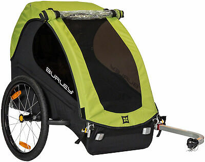 £198.74 • Buy Burley Minnow Child Bicycle Trailer Green For 1-Child Bike Carrier