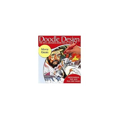 £3.99 • Buy Doodle Design - The Ideal Colouring Book For All Ages - Movie Greats (65C) Book
