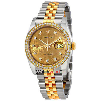 $ CDN24557.99 • Buy Rolex Oyster Perpetual Datejust Jubilee Automatic Ladies Watch 116243CJDJ