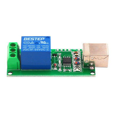 £4.99 • Buy 1 Channel 5V USB Module Relay Computer Control Switch PC Intelligent Control