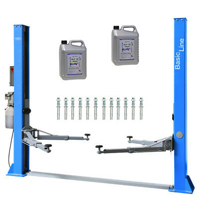 Twin Busch ® BASIC-Line 2 Post Lift 4.2 T TW 242 A - Two Post Car Lift Ramp • 1,698£