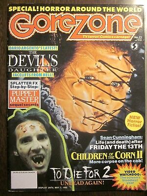 $9.99 • Buy Gorezone Magazine #21 (Spr 1992, 66 Pp) Devil's Daughter (NM, 9.4) With Poster