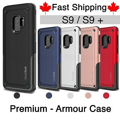 $ CDN4.99 • Buy Heavy Duty Armor Case For Samsung S9 / Plus Shockproof - Fast Canadian Shipping