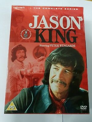 JASON KING The Complete Series. Peter Wyngarde. 8 Disc Box Set. New DVD. • 41.50£