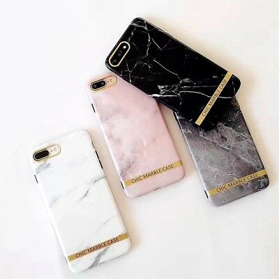 AU3.90 • Buy Shockproof Tough Marble Gel Soft IPhone 6S 8 7 Plus Xs Soft Case Cover For Apple