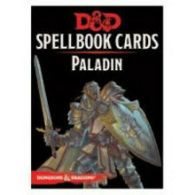 AU23.99 • Buy RPG - Dungeons And Dragons - Spellbook Cards Paladin Deck NEW!