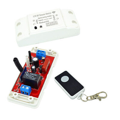 £8.62 • Buy 220V Remote Time Delay Switch Relay Light Switches Relay RF 433Mhz Controls