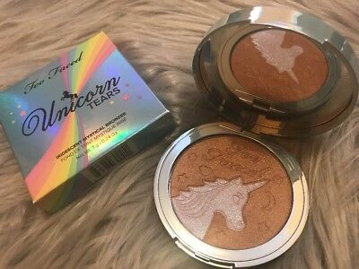 AU35.35 • Buy Too Faced UNICORN TEARS IRIDESCENT MYSTICAL BRONZER /  AUTHENTIC