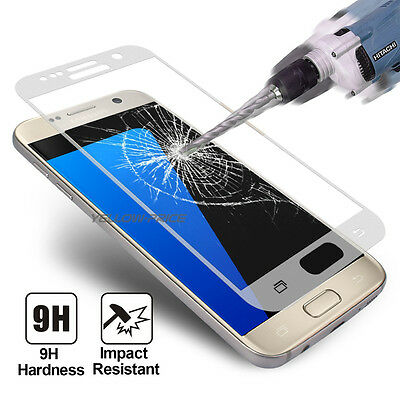 $ CDN9.99 • Buy For Samsung Galaxy S7 Edge Full Covered HD Tempered Glass Screen Protector Cover