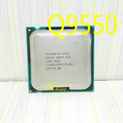 $ CDN36.27 • Buy Intel Core 2 Quad Q9550 (SLB8V) 2.83GHz / 12M / FSB1333 LGA775 Desktop Processor