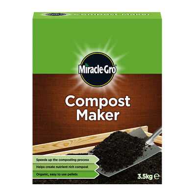 Miracle Gro Compost Maker 3.5kg Organic Easy To Use Pellets Compost Heaps / Bins • 12.49£