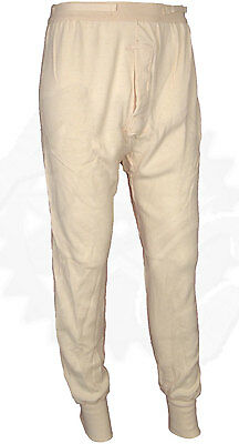 $18.99 • Buy Military Wool Blend Thermal Underwear Wallace Beery Long Johns Size Small