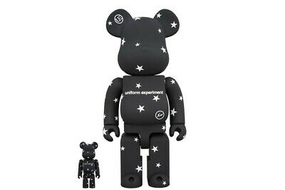 $428.88 • Buy Medicom Fragment X Uniform Experiment 400% + 100% Bearbrick Be@rbrick