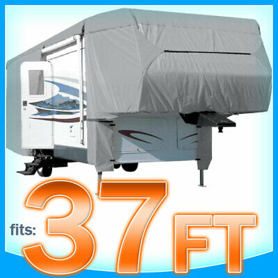 $ CDN198.69 • Buy 37' Ft 5th Wheel RV Motorhome Toy Hauler Cover Storage Covers Camper Protection