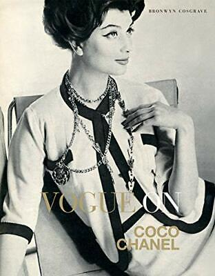 £5.99 • Buy Vogue On: Coco Chanel (Vogue On Designers) By Bronwyn Cosgrave Book The Cheap