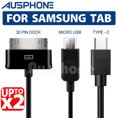 AU3.95 • Buy For Samsung Galaxy Tab S4 S3 2 10.5 7.0 10.1 Inch Tablet USB Data Charger Cable