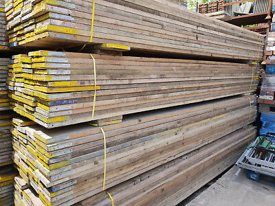 £20 • Buy Reclaimed Used Scaffold Boards / Planks / Timber 5ft, 6ft And 12ft 10