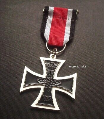Iron Cross 1939 Medal - German Military Repro - Includes Ribbon • 7.99£