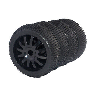4 Pieces 1/8 Scale  RC Buggy Wheels & Tires For HSP HPI Racing Car • 17.60£